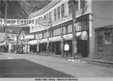 The Nugget Shop.  Juneau, Alaska, ca. 1924.