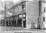 The Nugget Shop in the former Cheney Building on South Franklin Street, Juneau, ca. 1925.