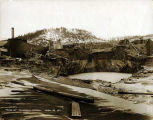 Treadwell, Alaska, cave in, April 22, 1917.
