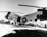 Piasecki helicopter on Kenai Peninsula, July 18, 1960.