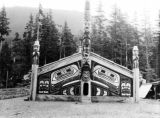 Totem Bight Community House, Ketchikan, 1945.