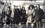 Survivors of S.S. KARLUK [and] crew, Stephansson Expedition, Sept. 13, 1914.