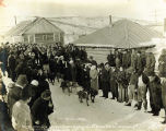 Iditarod, Alaska, Kennel Club's 3rd annual, Feb. 22nd, dog race, 1914,.