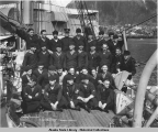 Second Division.  U. S. S. VICKSBURG, Juneau, Alaska, May 17, 1919.