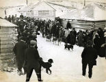 First ladies' dog race of Alaska, January 14, 1914.