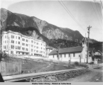 Catholic Hospital and Church - Juneau, Alaska.