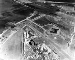 Aerial view of U.S. Naval Air Station, Adak, Aug. 5, 1945.