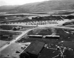 Carrier Force planes on ramp, Adak, Aug. 26, 1945.