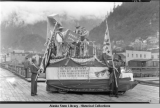 Filipino Community Float - Parade - Juneau - Alaska, July 4th, 1931.
