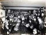 Christmas 1913 at Discovery City, Otter Creek, Alaska.