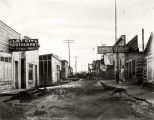 First Avenue, Flat City, Alaska, Nov. 1912.