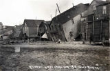 River Street, after storm, October 6, 1913, Nome, Alaska.