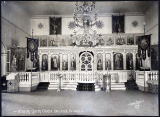 Interior Greek Church, Unalaska, Alaska.