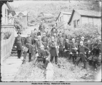 Members of the Knights of Pythias in Juneau, ca. 1900.