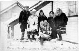 Wilkins expedition group in Barrow, ca. 1926-1927.