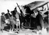 Fokker wreck at Fairbanks, ca. 1926-1927.