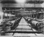 Concentrator Floor A.T.G.M. Co's  240 Mill,  Douglas Island, c. 1899.