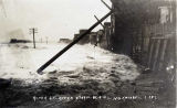 River Street, Nome, after storm, Oct. 6, 1913.