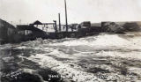 Nome, Alaska, during storm, Oct. 6, 1913.
