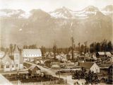 Birds-eye view of resident portion of Valdez, June 26, 1905.