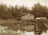 Old Payne Homestead near Valdez, Alaska, 1908.