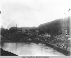 Hadley, a copper smelter town on Prince of Wales Island, ca. 1915.
