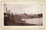 Klin-quan [Klinkwan] Indian Village, Alaska, c. 1897.