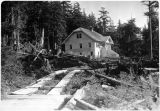House in Wards Cove Section, Tongass Highway, 9/24/29.