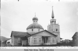 Russian Church, Sitka, Alaska, 1897.