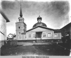 Sitka, St. Michael's Cathedral, south side.