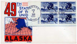 49th State of the Union, stamped envelope.