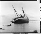 AL-Ki, Wrecked on Point Augusta, Alaska, Nov. 1-1917.