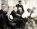President and Mrs. Warren G. Harding at Metlakatla, Alaska.