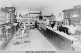 Drugstore and Soda parlor, Treadwell c. 1915.