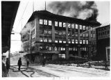 Goldstein Building fire, Juneau, Alaska, Feb. 9, 1939.