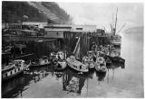 Fishing fleet, Juneau, Alaska.