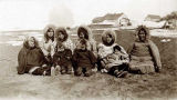 Eskimo women and girls.