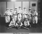 Boys baseball team, Juneau, Alaska.