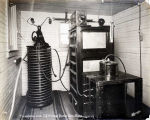 Transformer room, U. S. Wireless Station, Nome, Alaska.