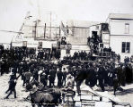 Arrival of Gov. Hoggatt at Nome, July 1906.