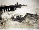 Storm on Bering Sea, Nome, July 8, 1906.