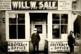 Will W. Sale Abstract Office.