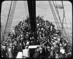 Ship's passengers, bound for Nome.