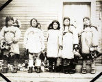 Five Inupiaq women.