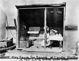 Play House for Bonnie at Candle, Alaska, ca. 1910.