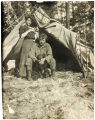 Thomas and Frances Noyes at campsite.
