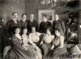 Group portrait of Noyes family of Butte, Montana.