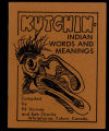 Kutchin : Indian words and meanings