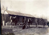 U. S. Army packers at Fort Egbert.