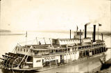 Alaska Commercial Co. stern wheeler SARAH at Eagle.